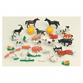 JOUETS ASSORTIMENT N°4 100 ANIMAUX FERME